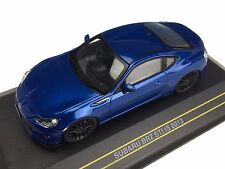 1/43 2013 SUBARU BRZ STI tS COUPE IN METALLIC BLUE BY FIRST43 DIECAST JDM MODELS