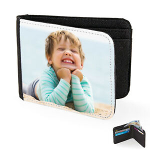 Personalised Mens Wallet - PREMIUM - add any photo or image