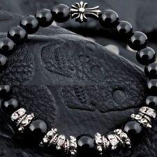 Brass Stone Beaded Bracelets for Men