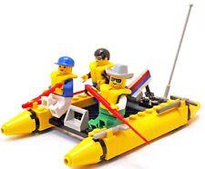 Lego 6665 City Town River Runners Bateau complet + Notice de 1994 -CN71