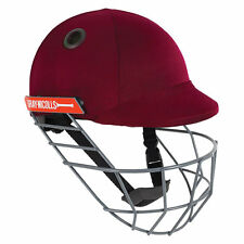 2020 Gray Nicolls Atomic Maroon Cricket Helmet - Steel Grill