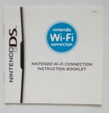 RARE PROMOTIONAL FLYER INSERT Wi-Fi Connection Booklet Nintendo DS