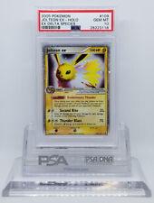 Pokemon Ex Delta Species Jolteon Ex 109/113 Holo Foil Psa 10 Gem Mint #28223118
