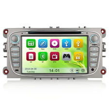 "7"" Car GPS Sat-Nav Head Unit DVD Player USB Bluetooth Stereo For Ford Mondeo Mk4"
