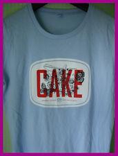 CAKE - ladies GRAPHIC T-SHIRT (L)  NEW & UNWORN