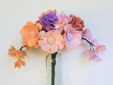 Handcrafted felt flower bouquet