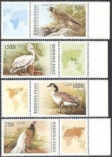 Burkina Faso 1996 Pelican/Falcon/Goose/Pheasant/Birds/Nature/Wildlife 4v (b6349)