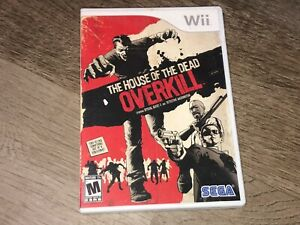 The House of the Dead Overkill Wii Nintendo Wii Complete CIB Authentic