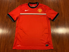 Nike Manchester United Men's Soccer Training Jersey Large L Man U Red Devils