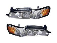 Corolla 93 94 95 96 97 1993-1997 Diamond Chrome Headlight Corner Set