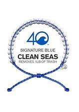 4OCEAN BRACELET ORIGINAL SIGNATURE BLUE. STICKER INCLUDED!