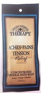 Therapy Ache Pains Nighttime Relief Concentrated Mineral Bath Soak,2 oz