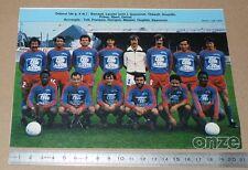 CLIPPING POSTER FOOTBALL 1980-1981 D2 STADE MALHERBE CAEN VENOIX SMC