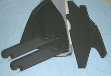 1970 Monte Carlo sun visors & headliner  black perforated