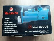 MAKITA 3700B ROUTER/TRIMMER / CUTTER 3700B 240v GOOD WORKING ORDER+ ACCESSORIES
