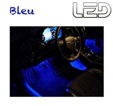 Mercedes Classe E W211 4 Ampoules LED BLEU éclairage Sols Tapis Plancher