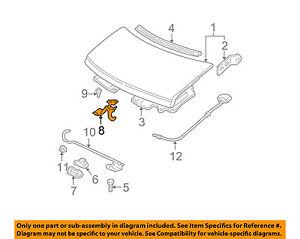 GM OEM Hood-Safety Catch Latch Lock 15186174
