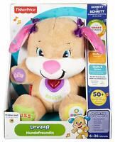 Mattel CGR43 Fisher Price Lernspaß Hundefreundin Lernspielzeug