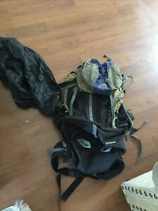 Alps Mountaineering Backpack Internal Frame Black and Blue