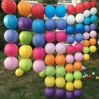 """Multicolor Chinese paper Lanterns Wedding Party Decoration 10"""" 12"""" 16"""" Leo LAUS"""
