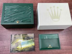 ROLEX SUBMARINER 2010 SMALL COLLECTORS WATCH BOX W/ MANUAL & HANG TAGS MH038