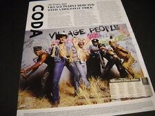 Village People 38 Ye 00001F2B ar Ago 2015 music biz detailed retro type Promo Poster Ad
