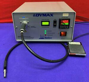 Dymax Blue Wave 75 UV Light Welder / Light Wand / Foot Pedal / Power Cord.