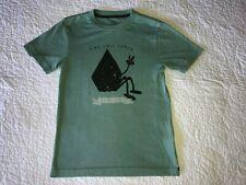 Boys VOLCOM Light Green Stay Chill T-shirt Shirt Top Size S Small 8 EUC!