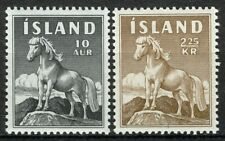 Iceland 1958, Horse, Icelandpony set VF MNH