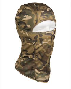 Cagoule Hublot Tactique Ouverte Multitarn® Vert Camouflage