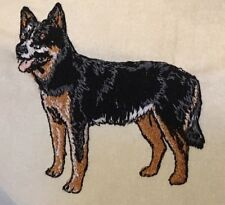 Australian Cattle Dog, Hand Towel, Embroidered, Custom, Personalized, Dog