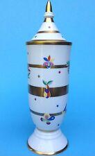 Artdeco Rosenthal Porzellan Vase Deckelvase Frucht Blume Vogel Schmetterling~50?