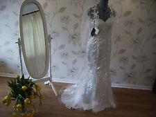 VINTAGE LACE SHRUG WEDDING DRESS GOWN