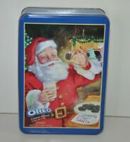 Oreo Cookie Holiday Tin 2002 Limited Edition Nabisco Advertising Empty