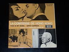 45 tours SP - B.O.F - LA COMTESSE DE HONG KONG - CHARLIE CHAPLIN - 1967 - NM