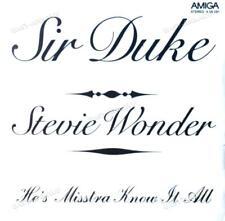 Stevie Wonder - Sir Duke / He's Mistra Know It All 7in Amiga 1976 (VG/VG) .