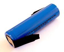 GM-E Li-Ion 3,7V 18650 2,2Ah Akku Zelle INR18650 HP 2200mAh Z-Lötfahne 30A