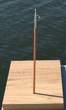 #BH1, Miniature Boat Hook with Wooden Handle and Metal Hook