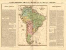 'l'amérique méridionale' . Sudamérica Nuevos Estados Independientes. Buchon 1825 Mapa