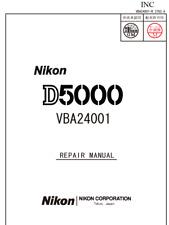 Nikon  D5000  Service Repair Manual