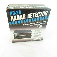 Nos Maxon Radar Detector (Black) Long Range Anti-Falsing Rd-2A