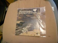 BROCHURE - TROUT FISHING IN THE SNOWY MOUNTAINS
