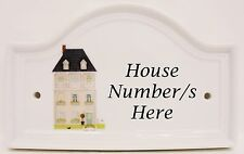 Mayfair PINK House porta numero targa ceramica casa segno porta un numero qualsiasi availab