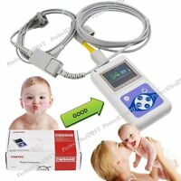 New Neonatal Infant pediatric Kids Born Pulse Oximeter Spo2 Monitor+PC software