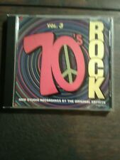 VOLUME 3 70'S ROCK CD BY THE ORIGINAL ARTISTS VOLUME # 3  rock the 70TH'S pop