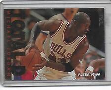 1995-96 Fleer Michael Jordan Total D!!! #3 Hot!! Bulls!!
