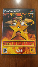 State of Emergency (Sony PlayStation 2, 2003) MAIL IT TOMORROW! ROCKSTAR GAMES