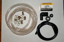 HONDA NC 50 EXPRESS MOPED CARBURETOR FUEL LINE + CLAMPS + SPARK PLUG CAP + WIRE