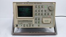 ANDO AQ-7140D Optical Fiber Analyzer, AQ-7145A, OTDR, 1310nm/1550nm