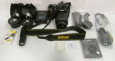Nikon D3200 Camera With Multiple Attachments And Accessories